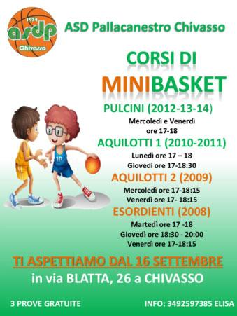 Corsi Minibasket