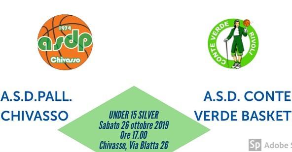 Under 15 2a Giornata A.S.D.P. Chivasso -Rivoli