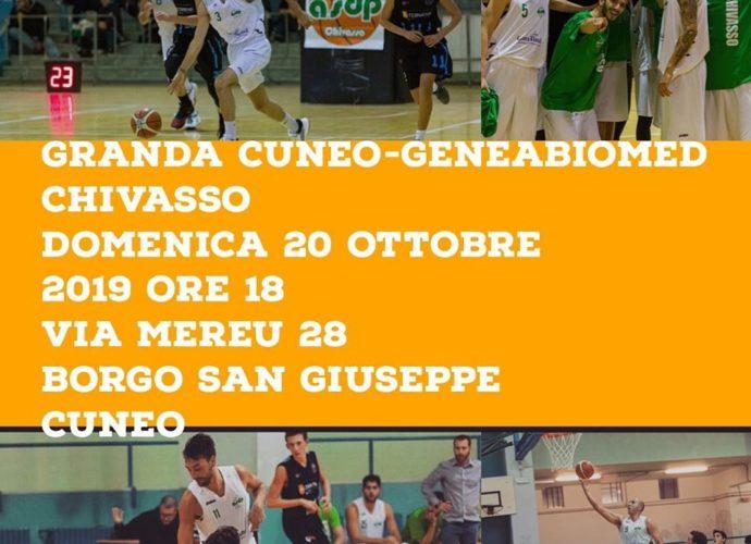 C Silver 3a Giornata Cuneo - GeneaBiomed Chivasso