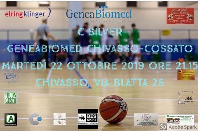 C Silver GeneaBiomed Chivasso - Cossato