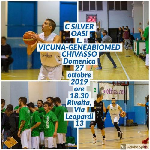 C Silver 5a Giornata Oasi Vicuna - GeneaBiomed Chivasso
