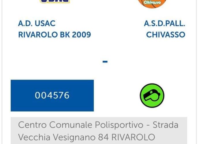 Under 16 rivarolo chivasso