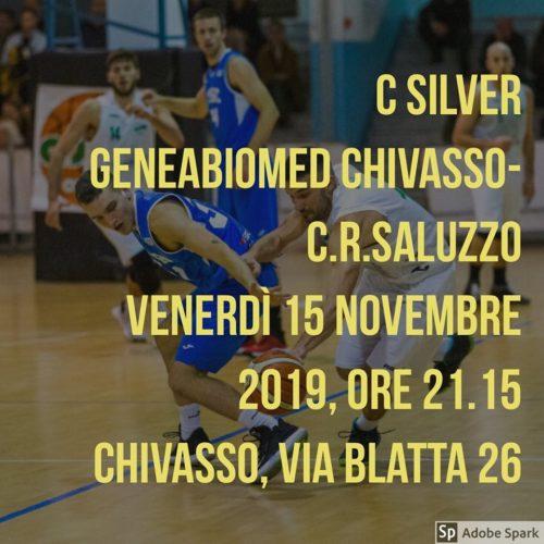 c silver geneabiomed chivasso - saluzzo