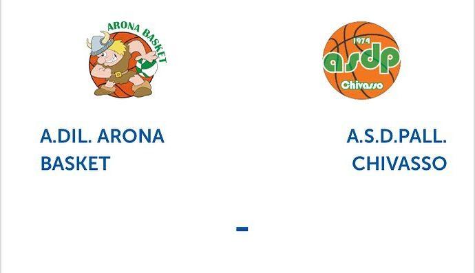 U16 4a Ritorno Arona - C.D. Ciglianese Chivasso 75 - 61