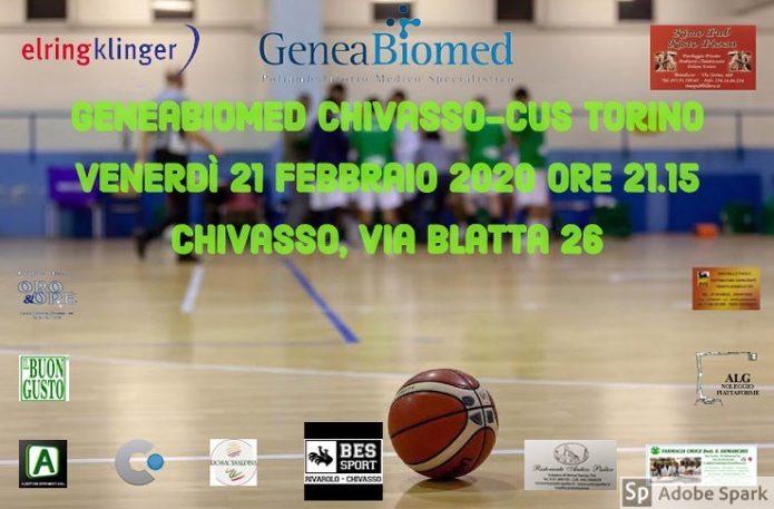 C SILVER: GENEABIOMED CHIVASSO - CUS TORINO