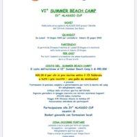 VI SUMMER BEACH CAMP