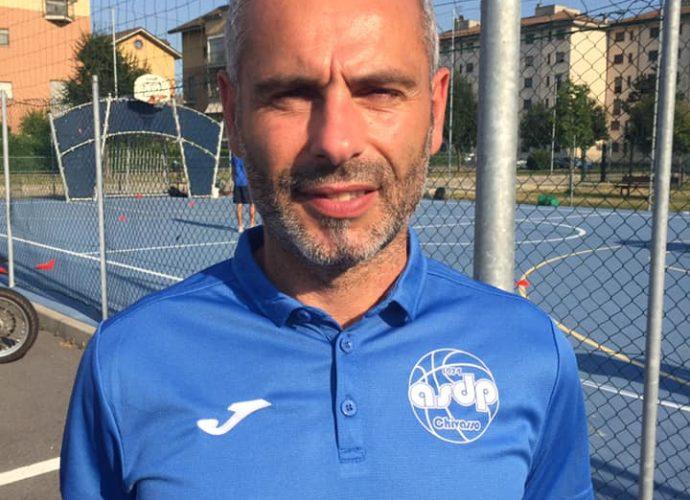 ASD Pallacanestro Chivasso C silver nuovo coach Pomelari
