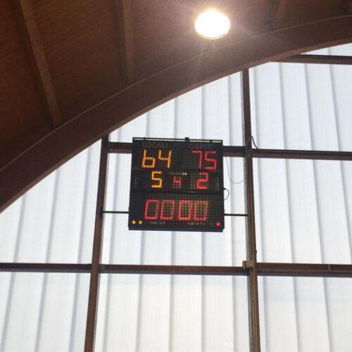 C Silver: C.D. Ciglianese Chivasso - Arona Basket 64 - 75
